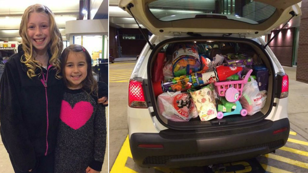 Young girl donates all of her birthday gifts to local children's hospital
