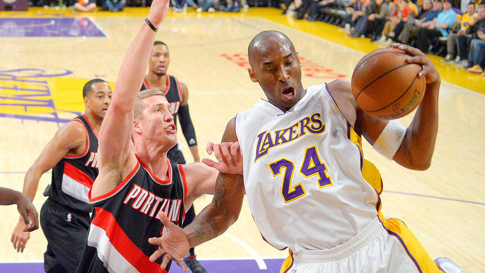 Kobe Bryant. (AAP)
