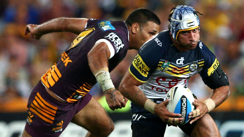 Johnathan Thurston. (Getty)