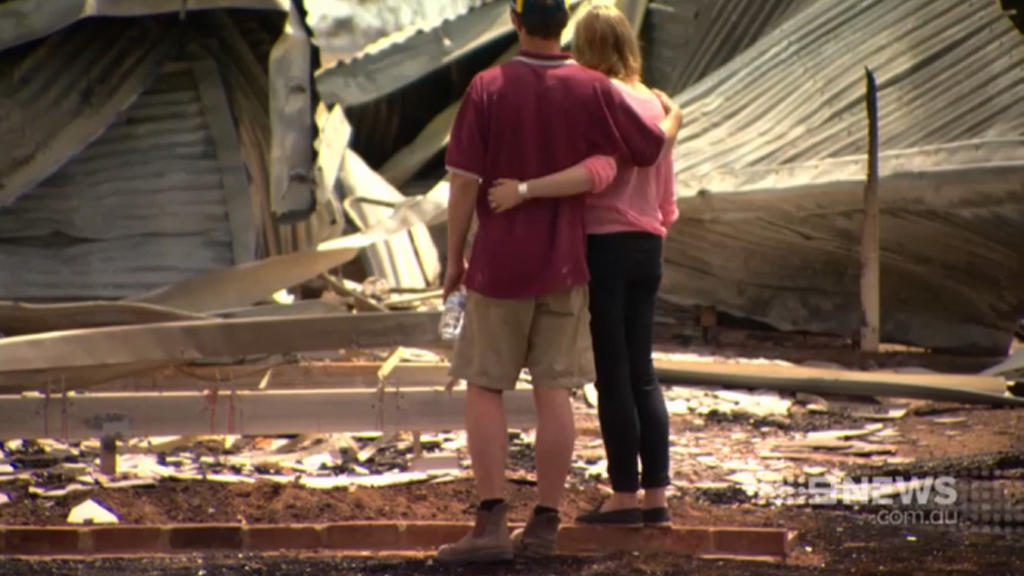 Pinery bushfire victims urged to apply for appeal funds