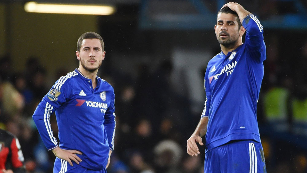 Chelsea stunned by Bournemouth