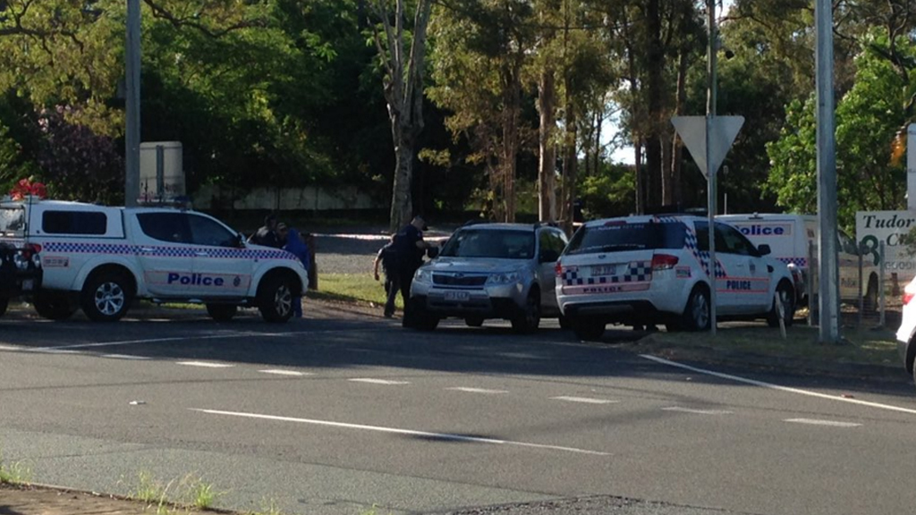 Police have responded to a Merrimac address after reports of multiple gunshots. (9NEWS)