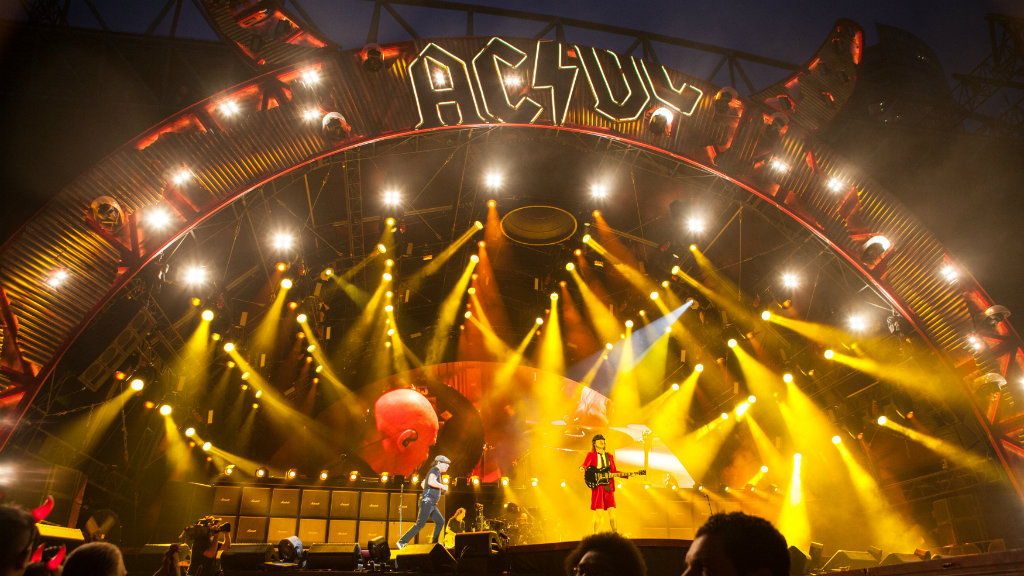 Young woman found unconscious at AC/DC concert at Melbourne's Etihad Stadium