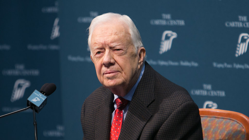 Former US president Jimmy Carter declares he's free of cancer