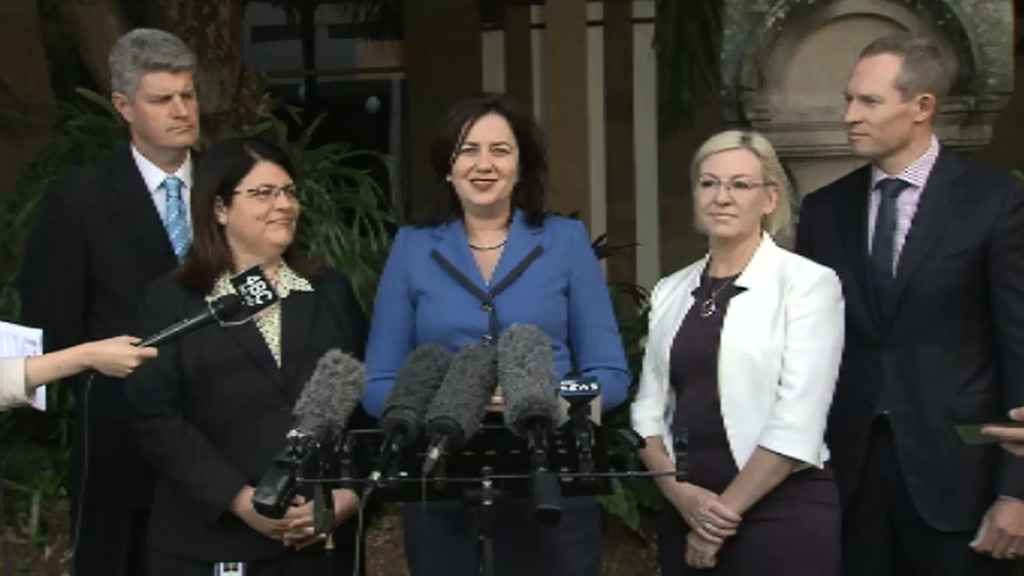 Annastacia Palaszczuk adds three new ministers, appoints new Police Minister as part of Queensland Cabinet expansion