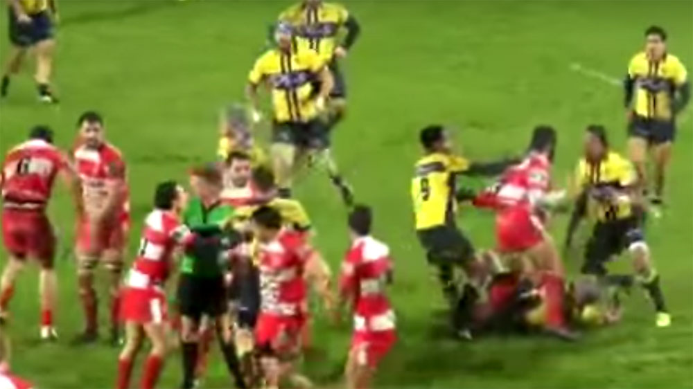 Punishment looms over wild French rugby brawl
