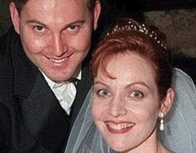 Gerard Baden-Clay and Allison Baden-Clay on their wedding day.