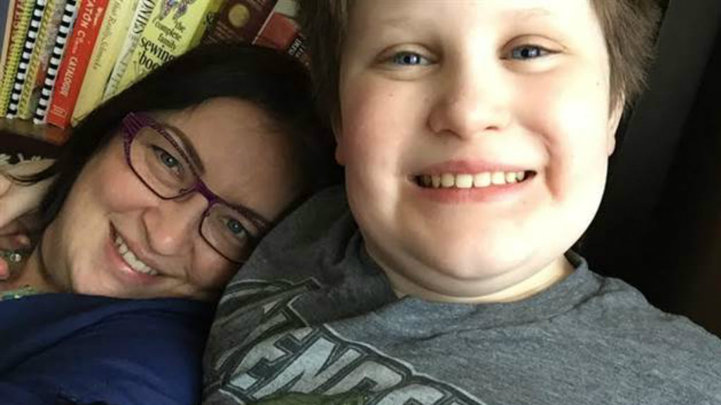 Canadian mum stunned after overwhelming response to call-out for supplies of son's favourite purple pen