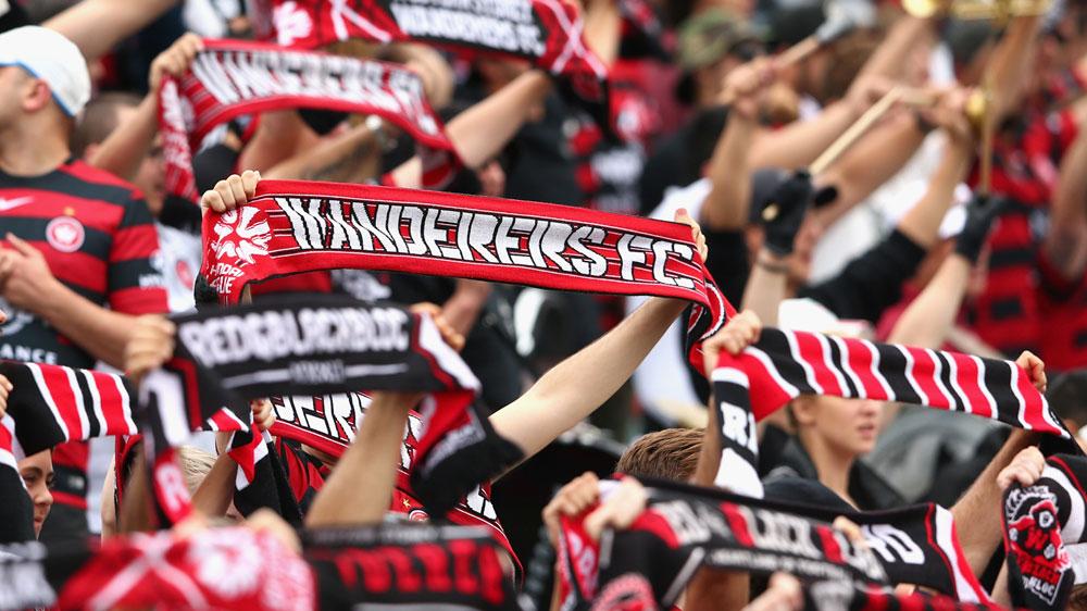 Wanderers fans. (Getty)