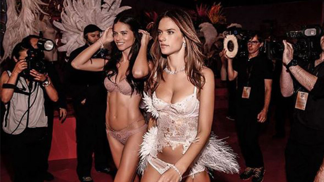 Fireworks and sparkling lingerie have helped light up New York's Victoria's Secret Fashion Show 2015, as some of the world's most famous models paraded down the catwalk to showcase the newest lingerie designs. Long-time Victoria's Secret angels Adriana Lima and Alessandra Ambrosio starred in the 'Portrait of an Angel' show. (Instagram)