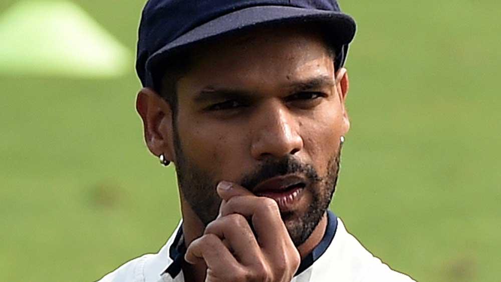 Shikhar Dhawan. (AAP)
