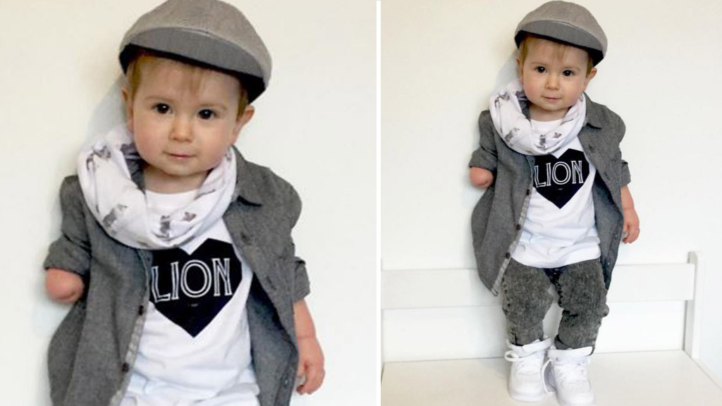 Stylish toddler takes over Instagram with adorable fashion snaps