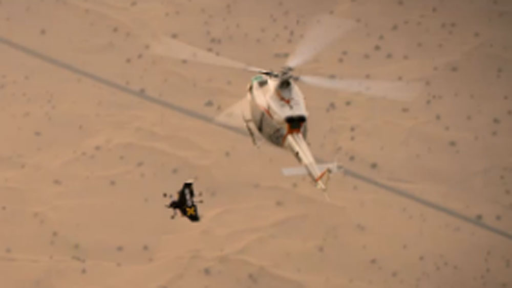 'Jetman' wins historic first high-speed duel
