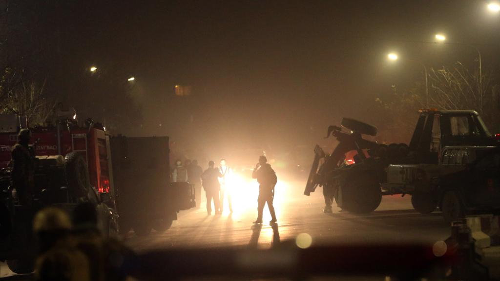 Taliban kill Spanish policeman in attack on Kabul embassy district