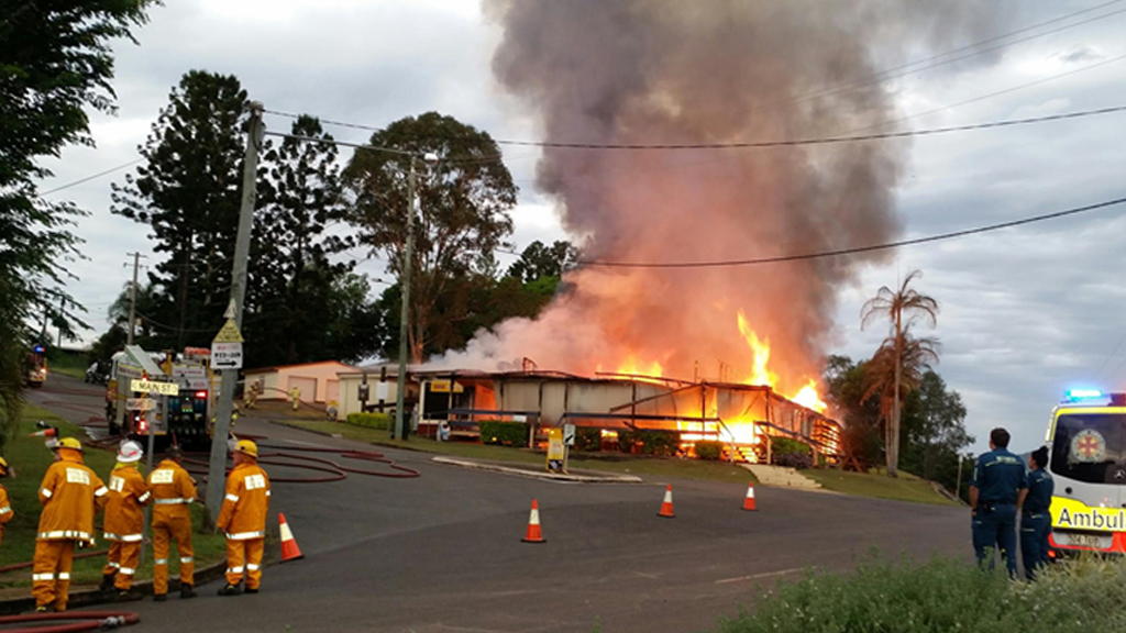 Historic Kandanga pub destroyed by fire south of Gympie