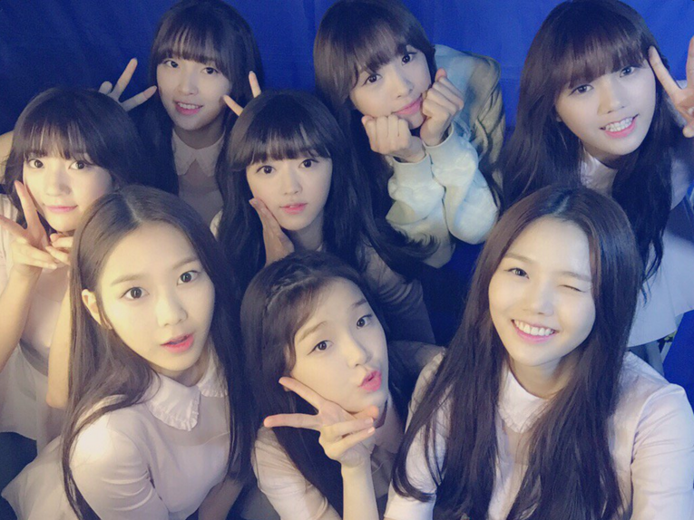 Members of K-pop group Oh My Girl. (Twitter / Oh My Girl)