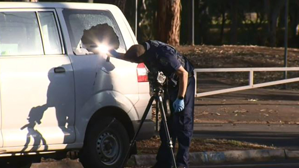Police say the man was delivering newspapers when he was attacked. (9NEWS)