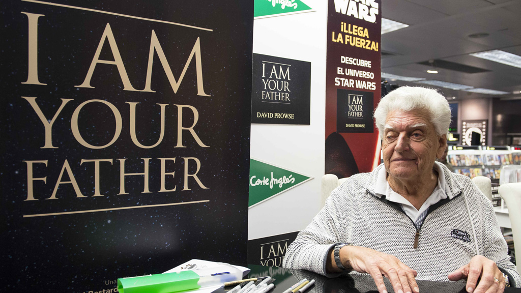 Prowse, 80, now makes a living by doing signings at conventions all over the US. (AAP)