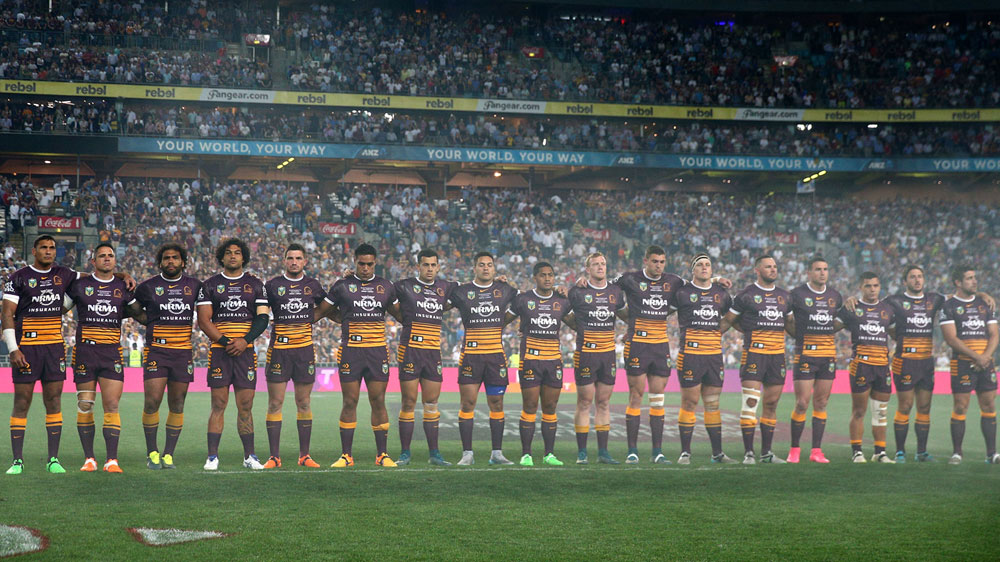 The Brisbane Broncos. (AAP)