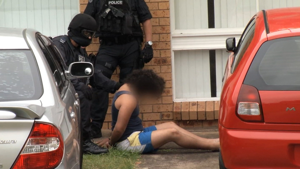 The man and a 15-year-old have been charged with terror offences. (Supplied)