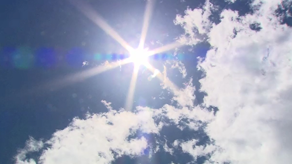 Temperatures are expected to rise at the weekend. (9NEWS)