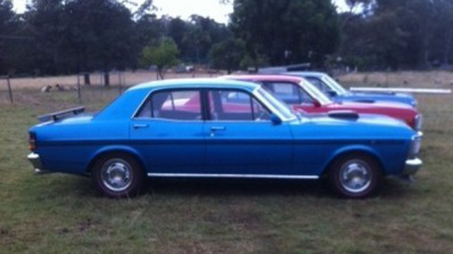 Sydney couple 'invent' stolen classic car