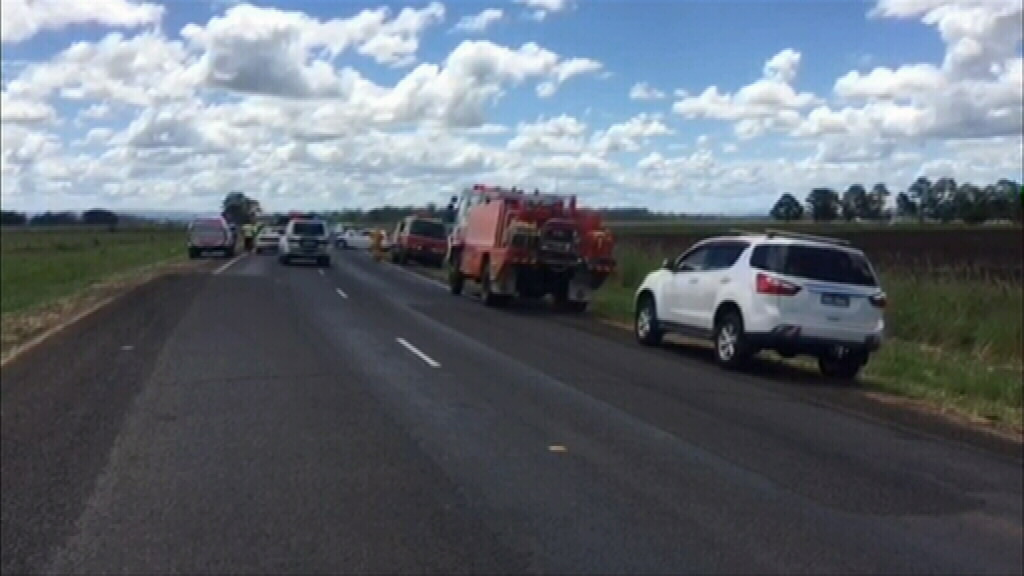 Toddler confirmed dead, another critical, after horror car crash on Bruxner Highway near Casino