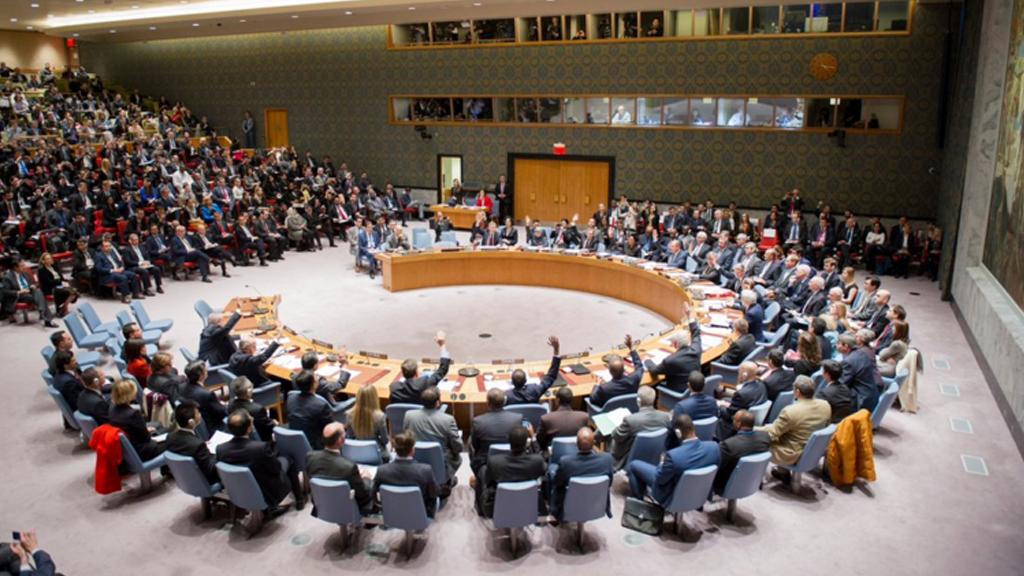 The UN Security Council. (UN)