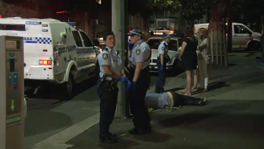 Young man punched unconscious in a fight near Glebe hotel last night