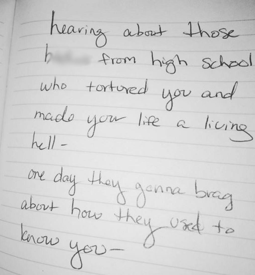 Kesha posted the handwritten note to her Instagram. (Instagram: @iiswhoiis)