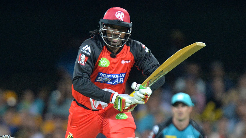 Finch steals limelight from Gayle