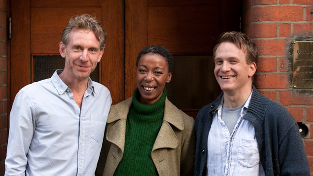 (Left to right) Ron Weasley will be played by Paul Thornley, Hermione Granger by Noma Dumezweni and Harry Potter by Jamie Parker. (Twitter: @HPPlayLDN)