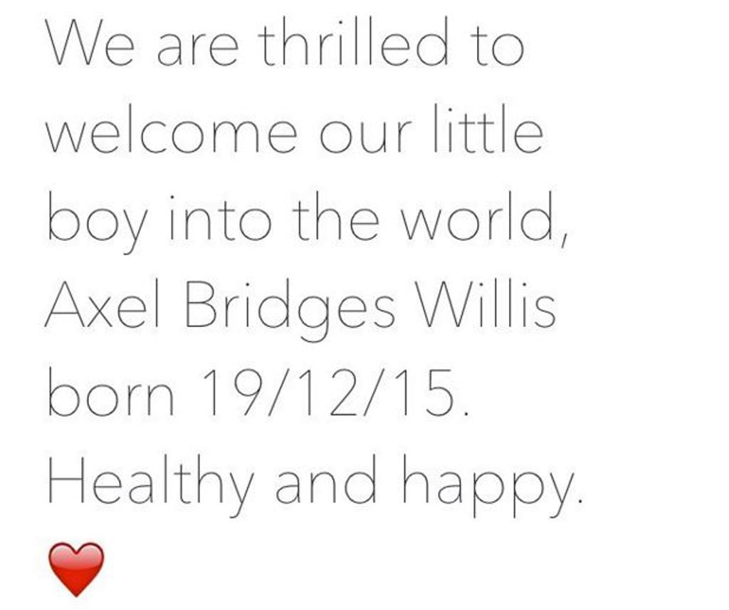 Bridges made the announcement on Instagram. (Instagram: @mishbridges)