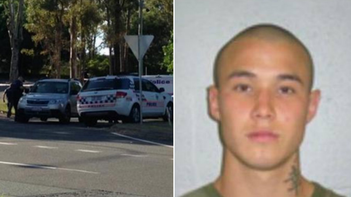 Police release images of man wanted over Gold Coast 'love triangle' car park shooting