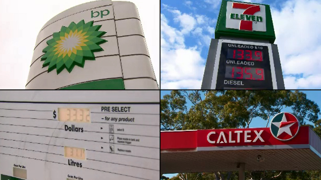 BP, 7-Eleven, Caltex and Woolworths have agreed to a deal that will allow motorists to view petrol price data. (9NEWS)