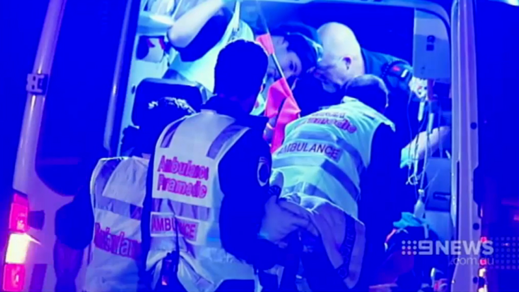 Victorian paramedics have been assaulted four times over a two-day period. (9NEWS)