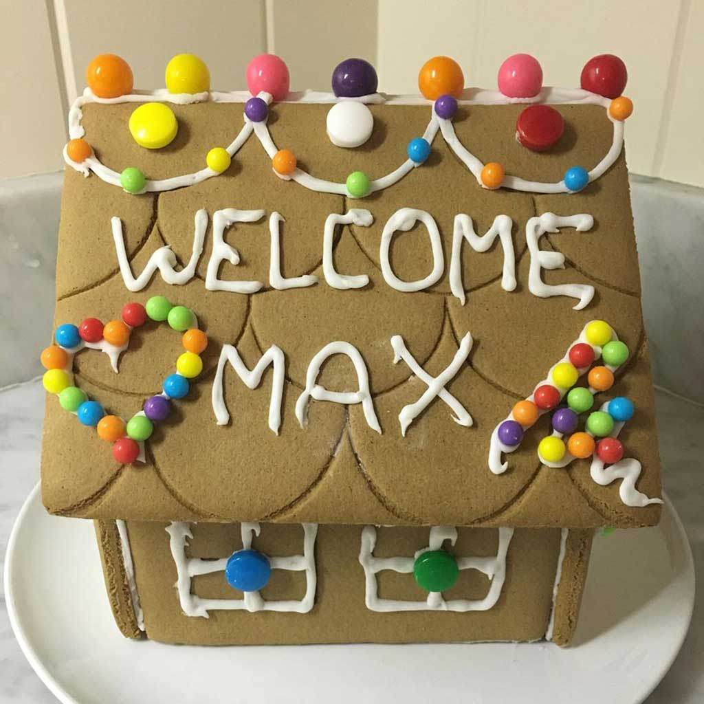 Facebook founder shares touching photo of daughter Max's first gingerbread house