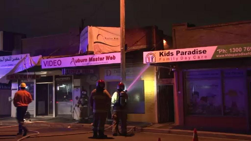 Auburn business fire reportedly linked to Salim Mehajer