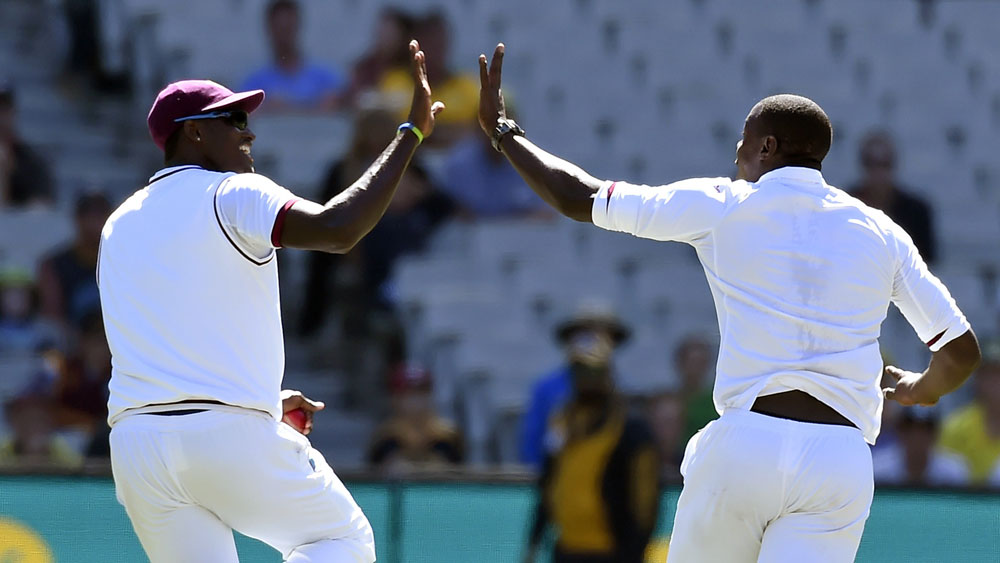 Cricket: Skipper, bowler collide in embarrassing celebration