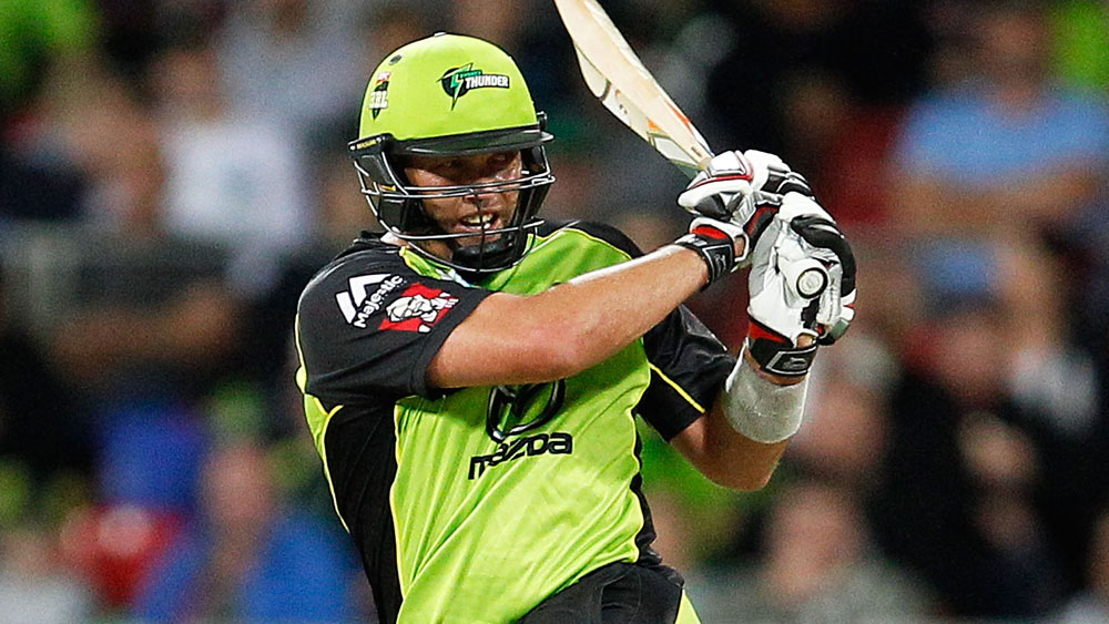 Thunder move to top of BBL ladder