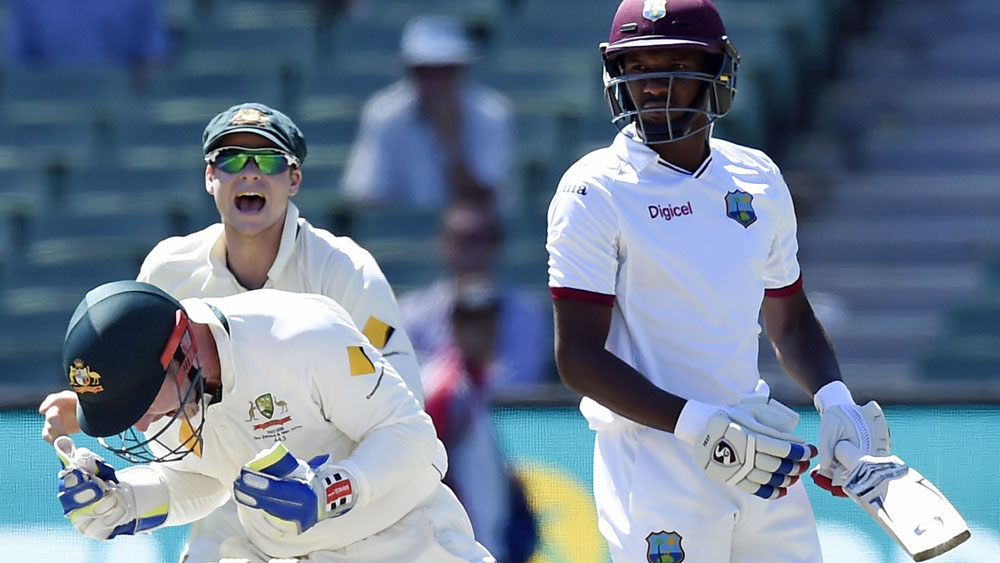 Australia wrap up Test series over Windies