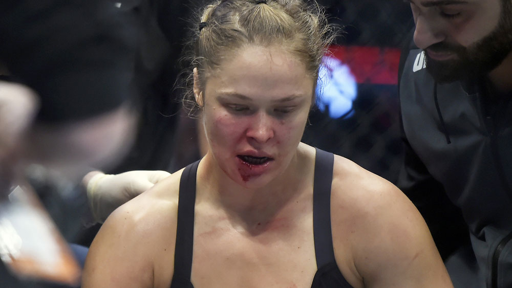 UFC: Part of Rousey died on the octagon: sister