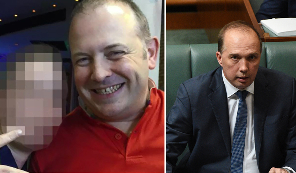 Immigration Minister Peter Dutton apologises after accidentally sending offensive text message to journalist