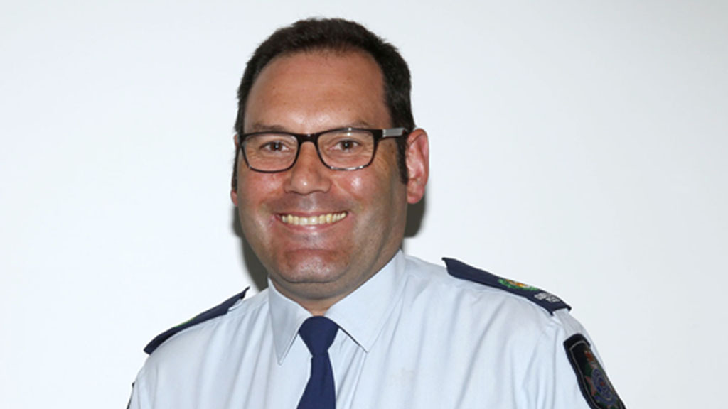 Sen. Sgt. Park hopes his story will encourage people to drive and ride more safely on Australian roads. (Queensland Police)