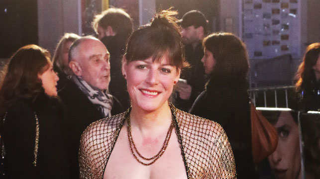 Actress Rebecca Root attends the UK premiere of The Danish Girl. (AAP)