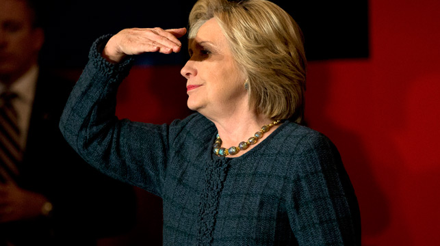 Hillary Clinton vows to 'get to the bottom' of Area 51