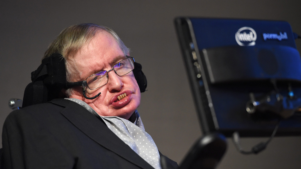 Stephen Hawking tells depression sufferers they can 'get out of the black hole'