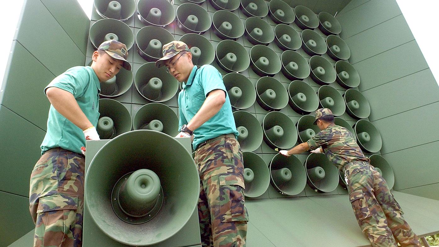 South Korea resumes propaganda broadcasts featuring K-pop into the North