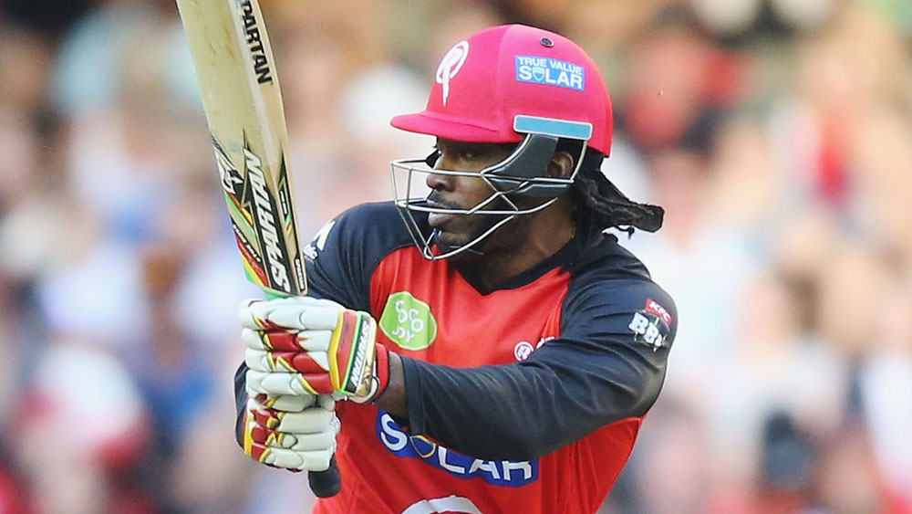 Gayle panned as Renegades beat Thunder in Big Bash League