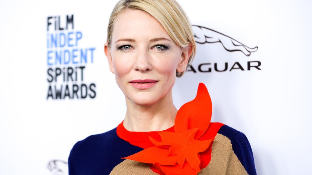 Golden Globe contender Cate Blanchett describes award ceremony as a 'mosh pit'